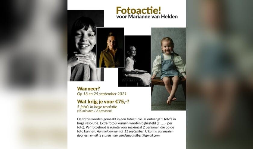 <p>Ontvang prachtige foto&#39;s in hoge resolutie en steun het werk van Marianne van Helden.</p>