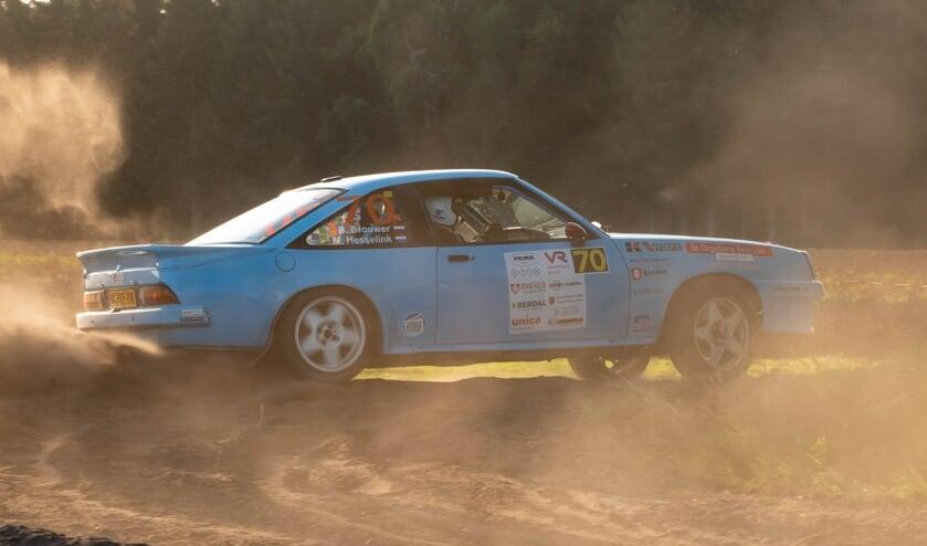 <p>Het duo Brouwer/Hesselink in actie. (Foto: Martin Winterman)</p>