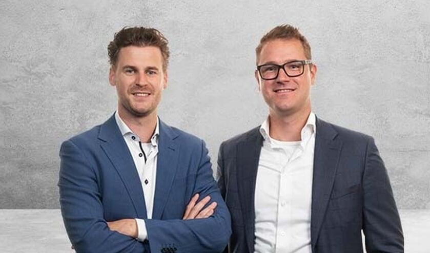 <p>&nbsp;Ruud Lubbers en Tom Marsman bemannen samen de vestiging van Credion in Almelo.</p>