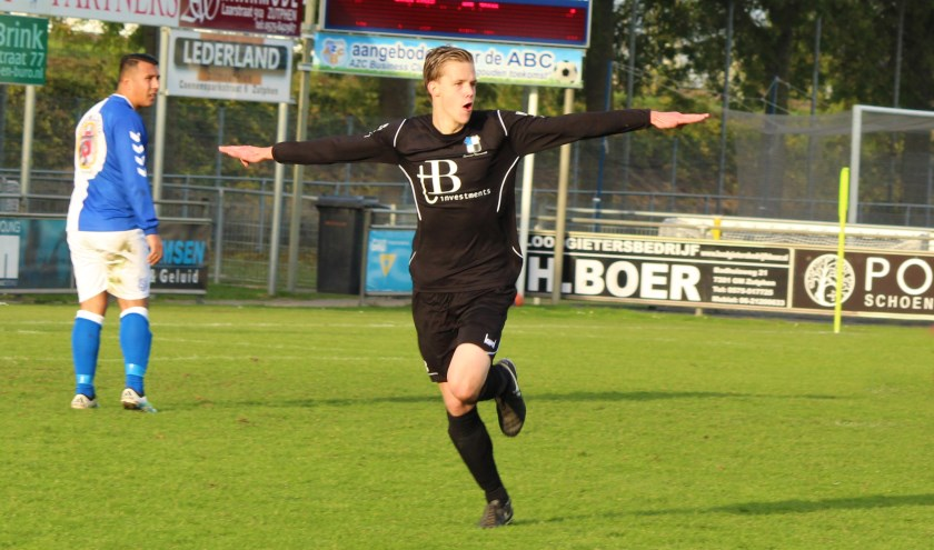 Jorrit Haverkamp van Varsseveld scoorde en stijgt daarmee naar de zevende plek. (foto: Karin Hofs)