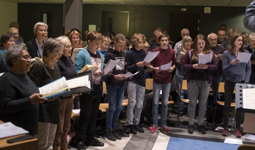 """Margreet Stokman:""""Wij hebben leerlingen van het Kottenparkcollege actief betrokken bij een uitvoering van Die Jahreszeiten."""""""