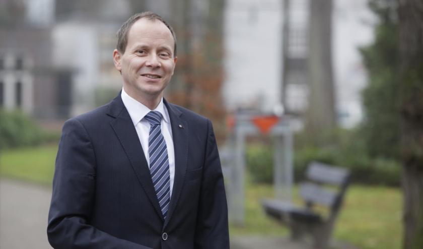 Burgemeester Ederveen. Foto: Archief/Jurgen van Hoof