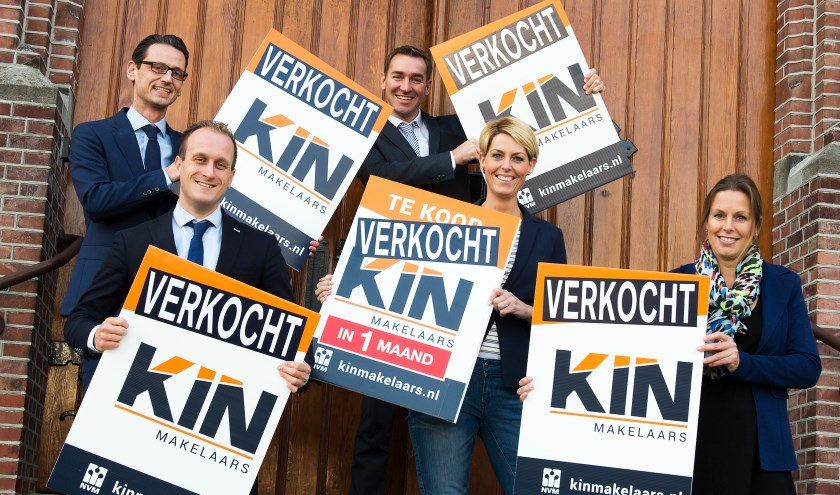 Kin Makelaars is uitgegroeid tot de best verkopende makelaar van Tilburg en met de overige vestigingen de meest verkopende in Brabant