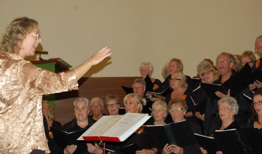 Donderdag geeft het Overdagkoor Enschede (OKE) onder leiding van de bevlogen dirigente Henriëte Eikenaar zijn jaarlijkse kerstconcert in de St. Jacobuskerk in Enschede.
