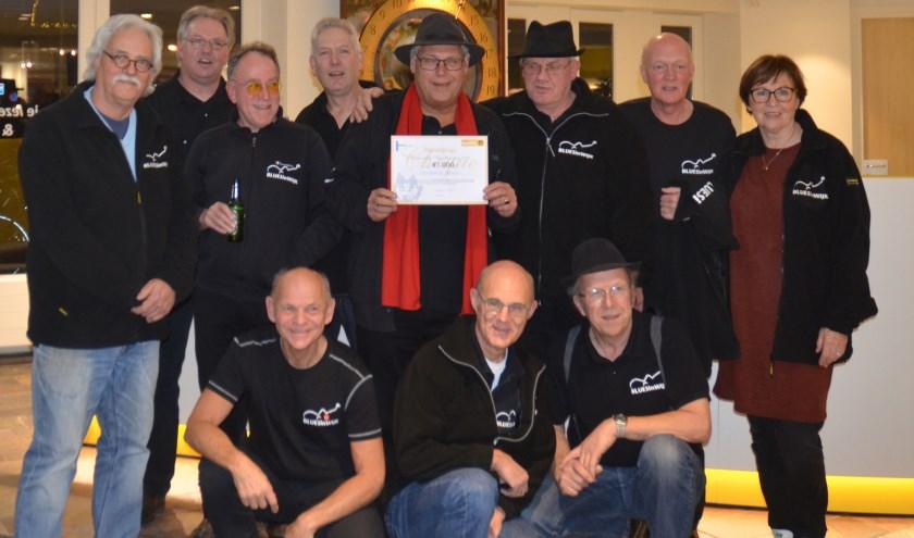De winnaar van de gemeentelijke Vrijwilligersprijs: Blues in Wijk. (Foto: Ben Blom)