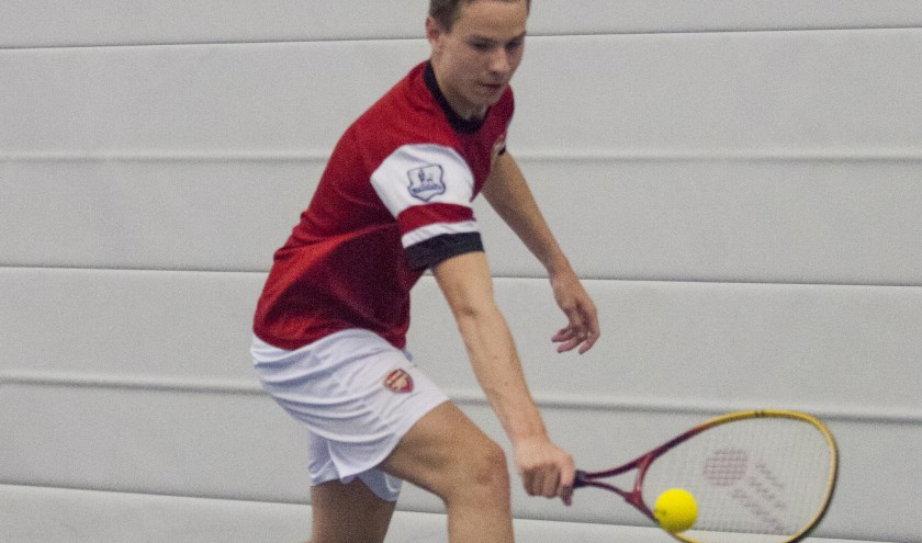 Dynamic tennis. foto: Sanne Heusinkveld