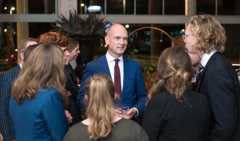 Op 9 maart gaat Gert-Jan Segers, de partijleider van de ChristenUnie, in Veenendaal in gesprek met Veenendalers. (Foto: Niek Stam)