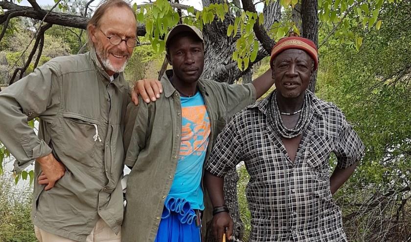 Amersfoorter Hendrik Kraak een missie: een school bouwen voor Himba-kinderen. (Foto: eigen foto)
