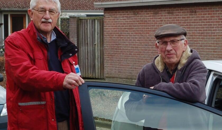 <p>Veldhopper-chauffeurs staan klaar.</p>