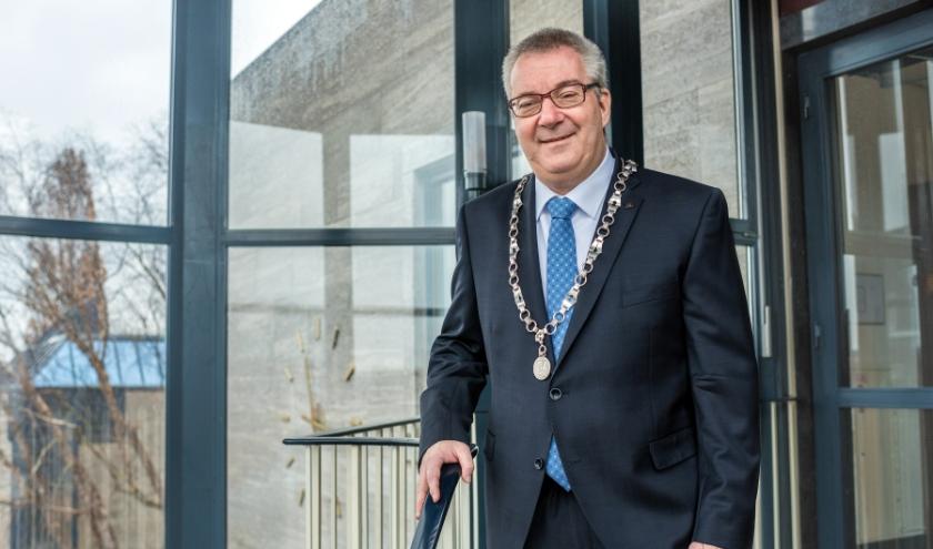 Burgemeester Hans Ubachs. Foto: Michiel Wasmus