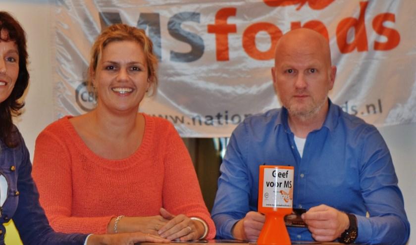 De drie MScoördinatoren. Vlnr Marleen Postma, Marieke Veld en Erik Riemens.