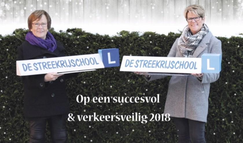 Riet van Schooneveld-van den Berg heeft vanaf de oprichting van de rijschool, op 9 september 1983, aan het roer gestaan. (Foto: Privé)