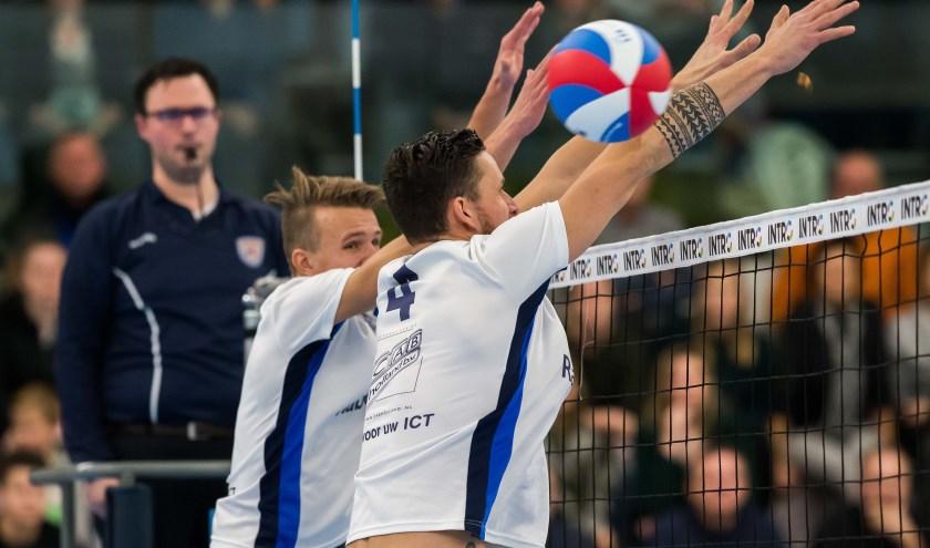 De wedstrijd wordt op 6 januari vanaf 19.00 uur gespeeld in sporthal De Basis en de entree is gratis. (Foto: Peter Verheijen)