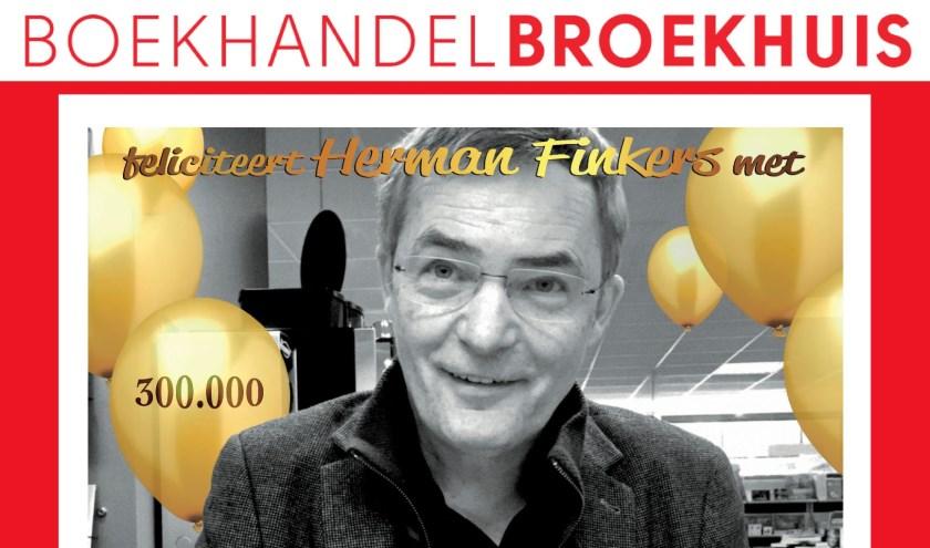 Uitreiking Het Gouden Boek Aan Herman Finkers Hengelos
