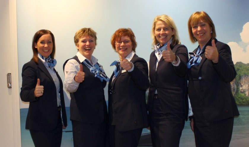 Felicitaties aan het Tui-team Oldenzaal: hun vestiging is de beste van de provincie Overijssel.