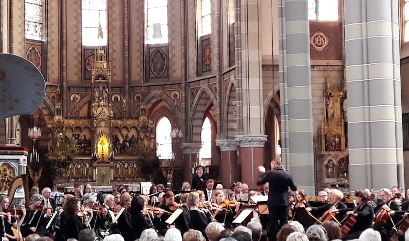 Musica speelde zondagmiddag in de Elandstraatkerk