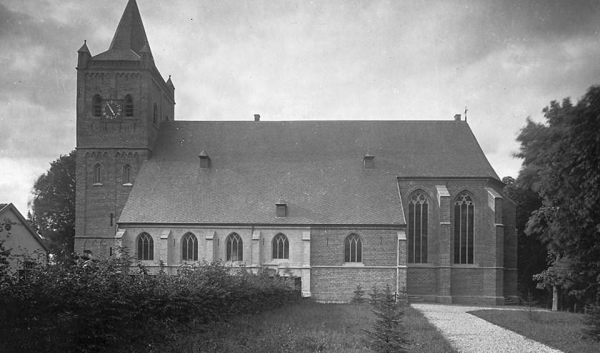 De Nederlandse Hervormde Kerk in Beekbergen. Bron: Rijksdienst Cultureel Erfgoed.