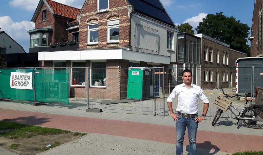 """Edric Pletting voor Lunchcafé Koek & Ei dat half oktober haar deuren opent. """"Ons lunchcafé staat open voor mensen met een verstandelijke beperking."""""""