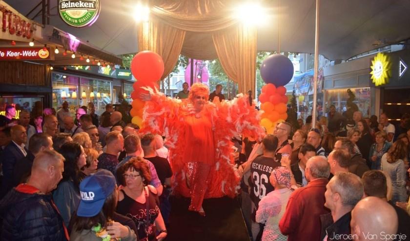 Een van de paradepaardjes van de Rotterdam Pride is ook dit jaar weer de Keerweer Parade. (Foto: Jeroen van Spanje)