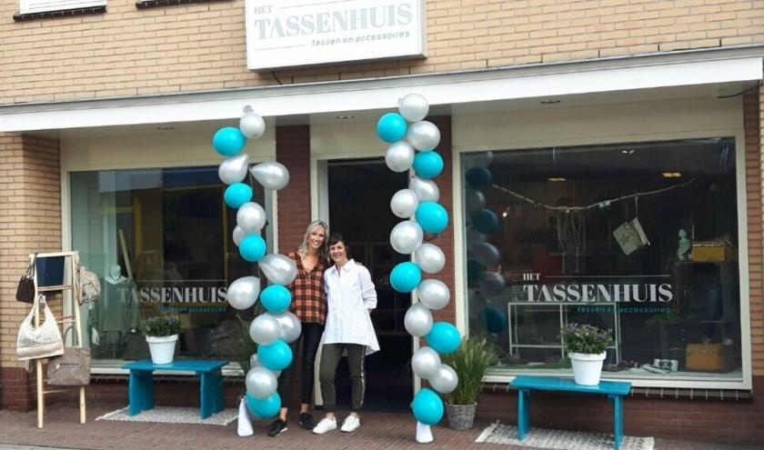 Sandra Veldhuis en Marjelle van Embden-Hiddink.