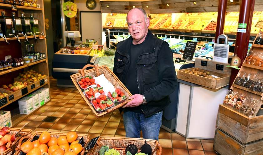 Ondernemer van de week: Van Aalten groeten & fruit Silvolde. (foto: Roel Kleinpenning)