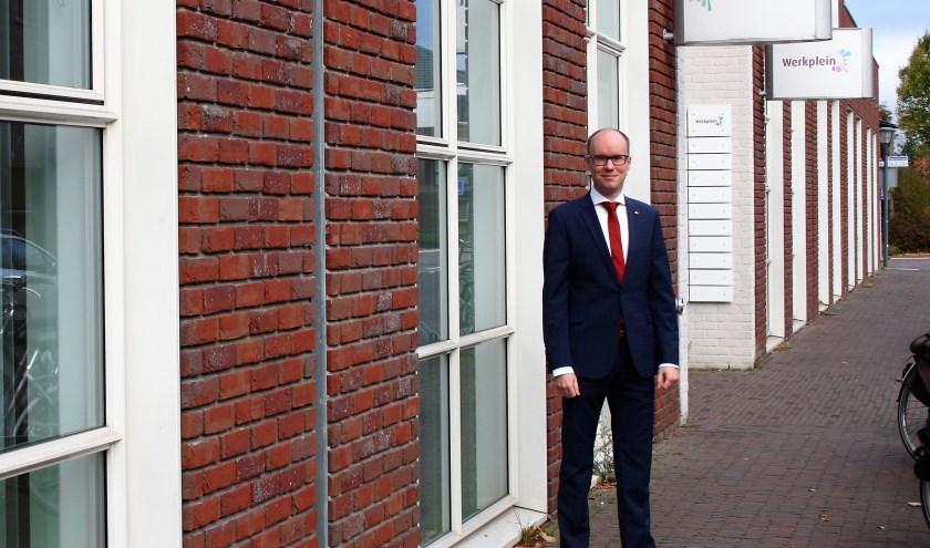Joost Hendriks, wethouder Zorg en Welzijn bij de gemeente Cuijk. (foto: Ingrid Janshen-Artz)
