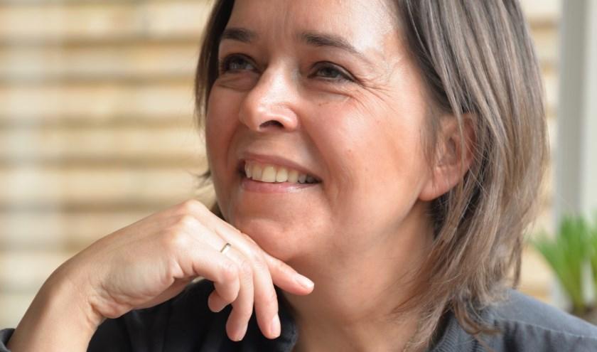 Monique Smitsmans verzorgd de workshop Veerkracht & Vitaliteit in samenwerking met Steunpunt Mantelzorg.