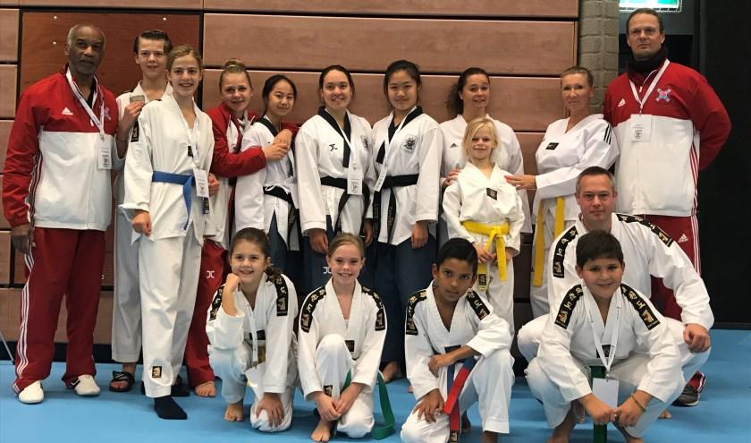 Het vele en harde trainen bijTaekwondo Club Papendrecht is tijdens dit kampioenschap beloond.