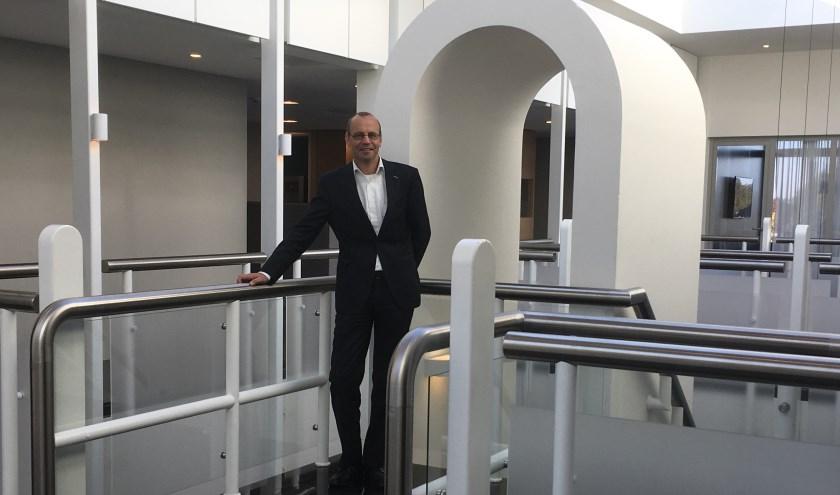 De gemeente Montferland stimuleert innovatie. Wethouder Martin Som zegt dat veel bedrijven subsidie op de plank liggen. (foto: Karin van der Velden)