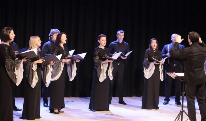 Mooi optreden van het russische koor uit Kiev.