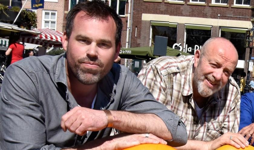 Marien Brand en Ronald van Rossum. Foto: Marianka Peters