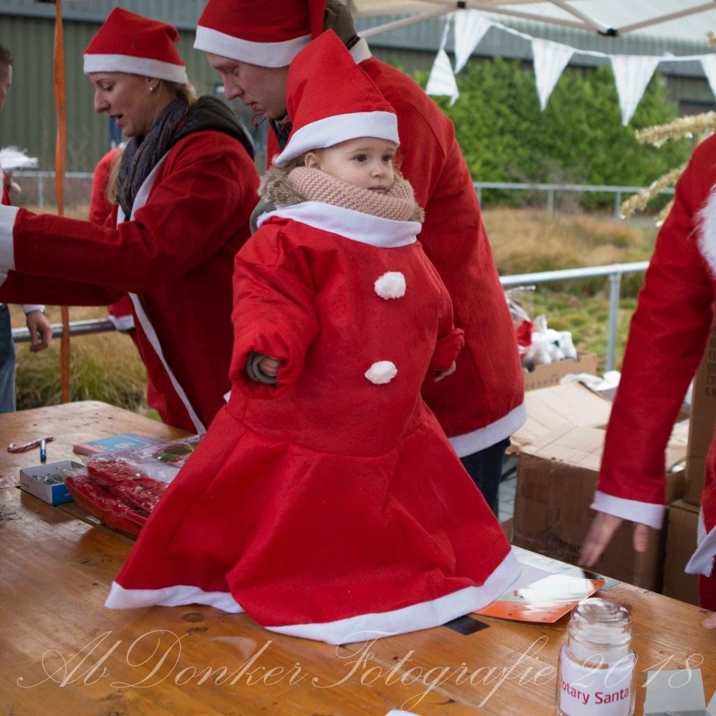 Druk bezochte Rotary Santa Run in Beusichem Foto: Ab Donker © DPG Media