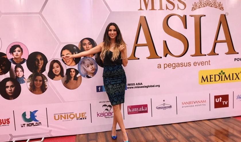 'Ik mocht me eventjes heel speciaal voelen. In Azië kijken ze heel erg op naar missen.' (Foto: Andreea Larisa Blidariu)