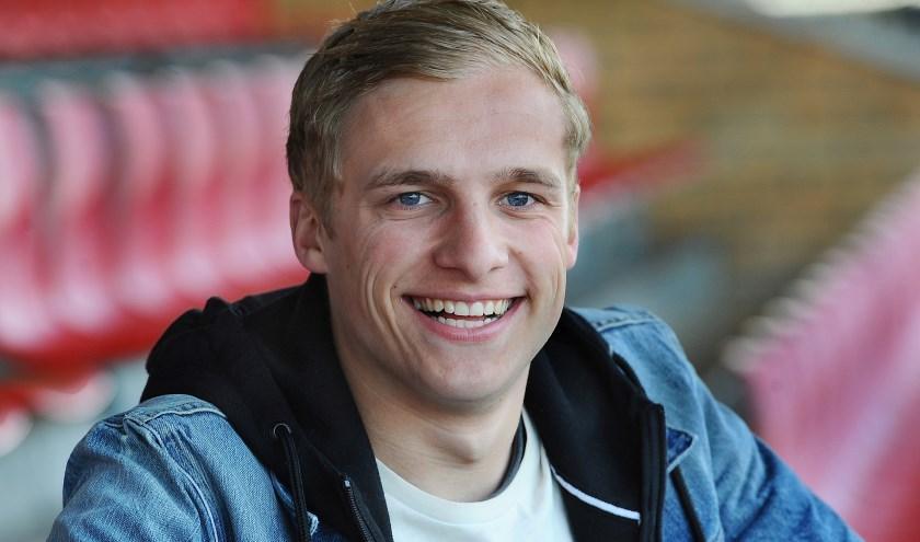 Jorn Eijkelkamp van VIOD scoorde en staat in de subtop. (foto: Roel Kleinpenning)