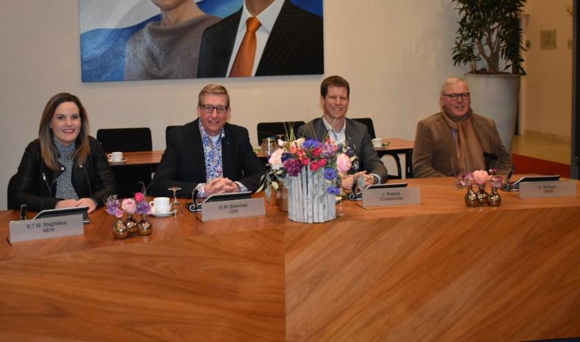 Wendy Slaghekke, Wim Bremmer, Jeroen Regtuijt en Herman Minkjan.