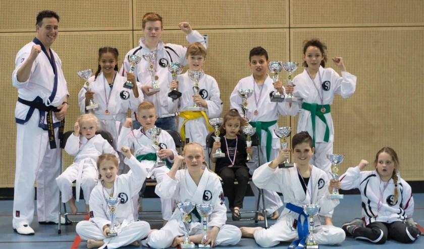 Uitstekende score door leerlingen van Dojang Myeong-Ye Spijkenisse op Nederlands kampioenschap Tang Soo Do. Foto: PR