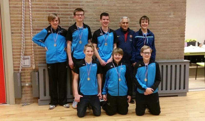 Kampioensteam bij de jeugd van SMD.