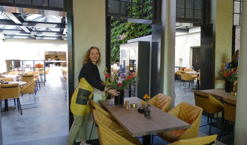 Annemieke Wils is terecht trots op het nieuwe restaurant Hex in hartje Oudewater.