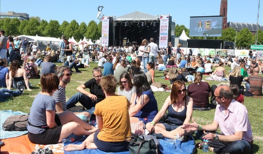 Bevrijdingsfestival in betere tijden. (Foto: Anneke Ruys)