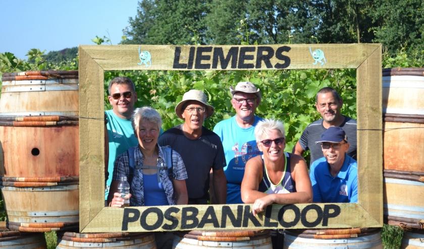 De organisatoren van de Liemers-Posbankloop die dit jaar vanwege corona niet doorgaat.