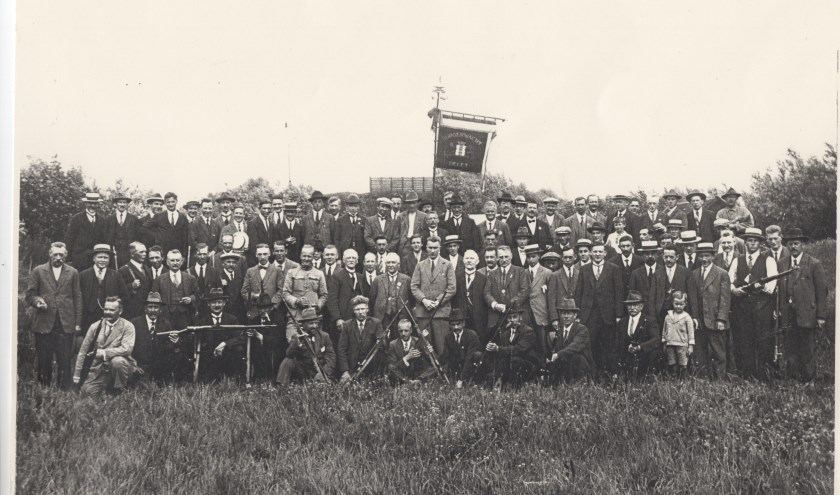 De Delftse Burgerwacht was er tot aan het begin van de oorlog.