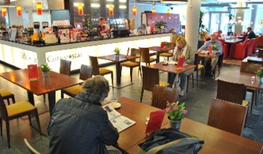 Leescafé Bibliotheek Hengelo