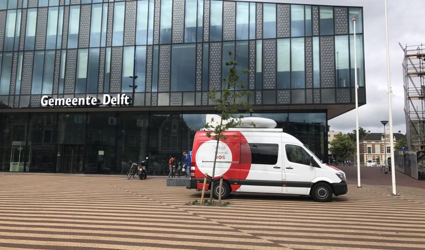 Delft staat ook flink in de belangstelling in de landelijke media.