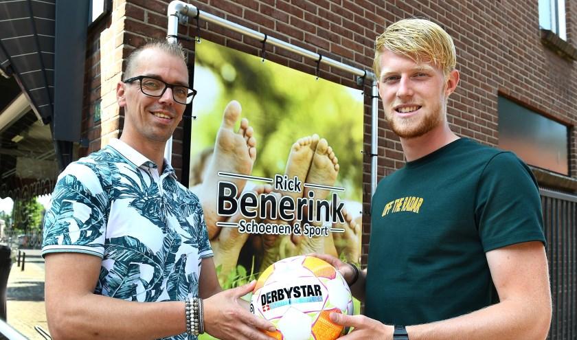 Rick Benerink (links) en Wout Blasman.