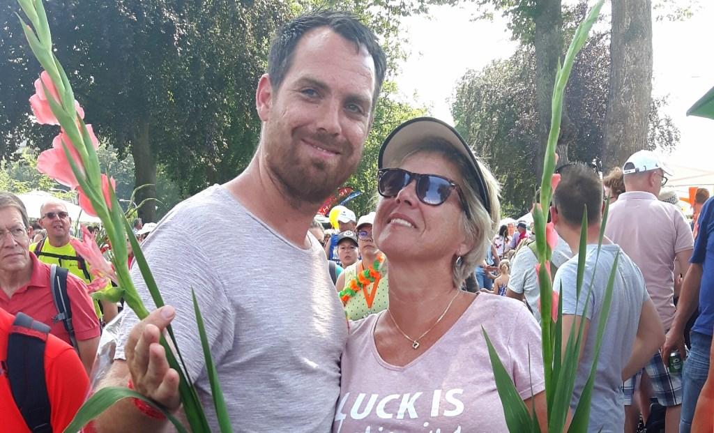 Mark Bakker en Tonnie van Zessen. Foto: Monique Molendijk © DPG Media