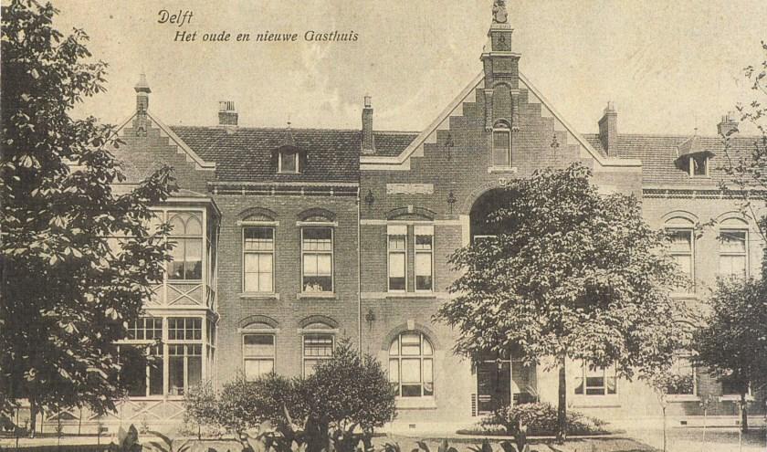 Het Oude en Nieuwe Gasthuis op de Koornmarkt.