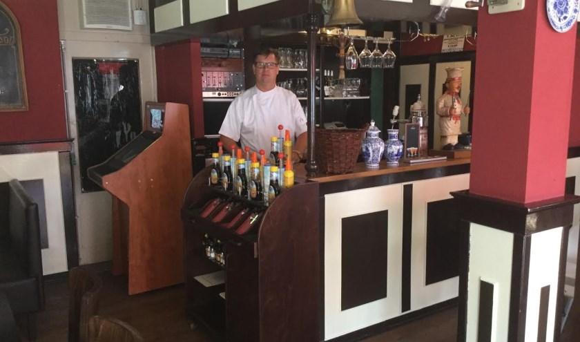 Martin Holleman is al ruim 20 jaar uitbater van café de Korenbeurs en 't pannenkoekenhuis Wageningen.