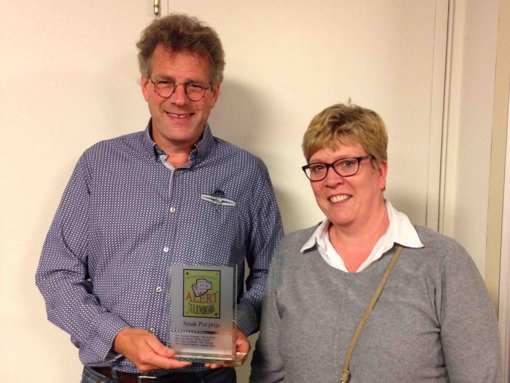 Winnaars S. Pot aanmoedigingsprijs. Foto: Ina van der Zee © DPG Media