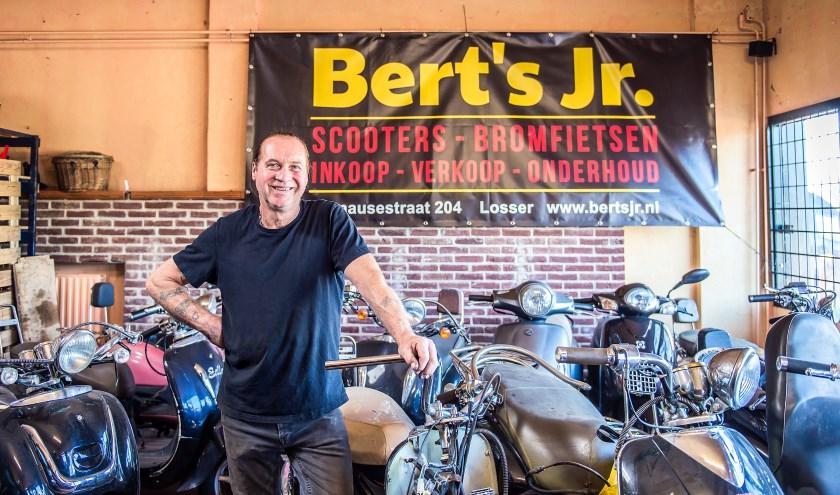 Bert Bilecky, alias 'Brommer Bertje', gaat met pensioen. Foto: Ratna Bosch