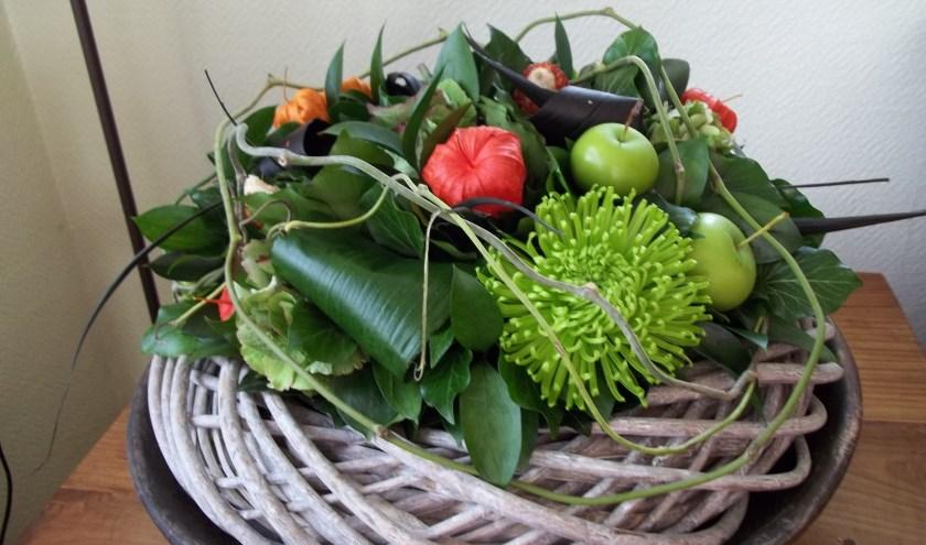 Groei en Bloei start in de loop van september weer met bloemschiklessen in Geesteren.